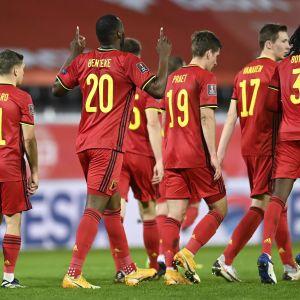 Belgian miesten jalkapallojoukkue