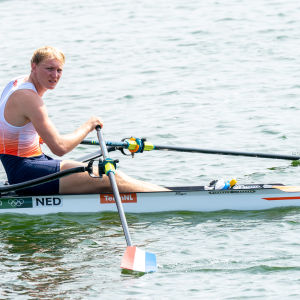 Finn Florijm soutuveneessä