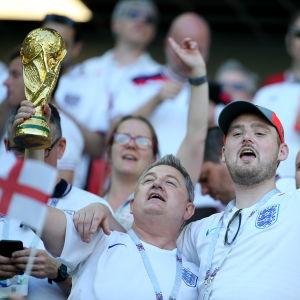 Engelska fotbollsfans.