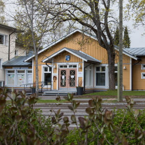 Kommunhuset i Lappträsk.