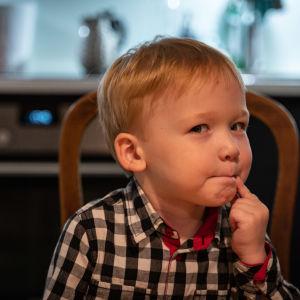 Treåringen diagnostiserades med cystisk fibros som två månader gammal.