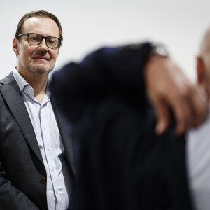 Försörjningsberedskapscentralens tf chef Janne Känkänen.