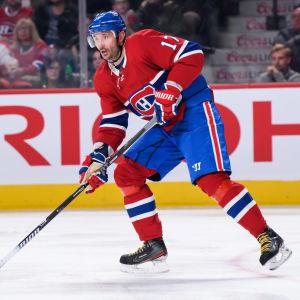 Ilja Kovaltjuk på isen i Montreals tröja.