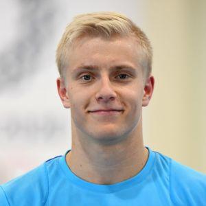 Emil Soravuo i närbild.