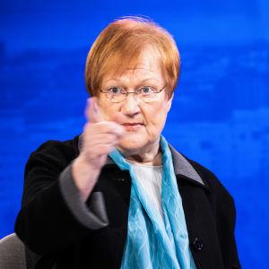 Tarja Halonen.