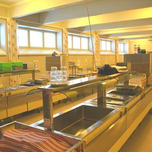 Matsalen i Kvarnbackens skola