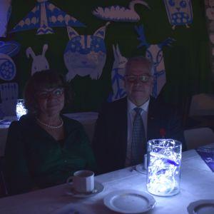 Sonja Eklund-Dahlin och Tom Dahlin.