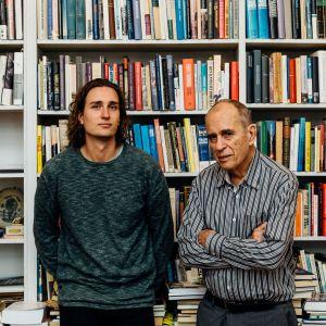 Rafael och Jörn Donner.