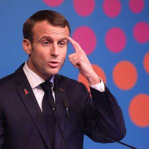 Emmanuel Macron under G20-mötet i Buenos Aires 1.12.2018