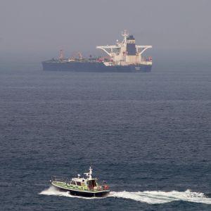 Iranskägda Grace 1 beslagtogs av Storbritannien utanför Gibraltar.