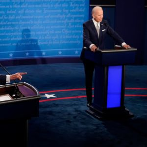 Donald Trump och Joe Biden i tv-debatt 29.9.2020