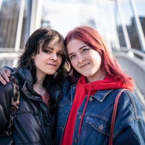 Elisabeth Cabrera ja Elviira Lindeman