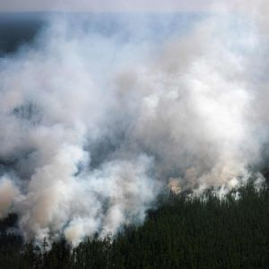 Bränder i Sibirien, Ryssland 27.7.2021