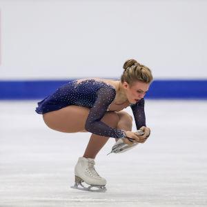 Ett strålande friprogram lyfte Emmi Peltonen till elfte plats i EM.