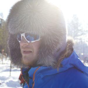 Tom Nylund i renbetesland,