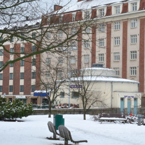 Puutorin vessa vid Sibeliusgatan i Åbo