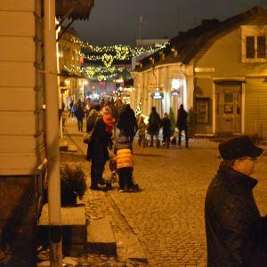 Mellangatan i Borgå.