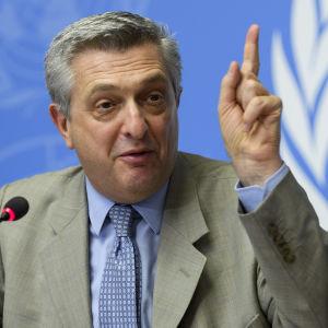 Filippo Grandi, chef för FN:s flyktingkommissariat UNHCR.