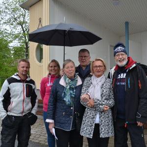 Arrangörerna för Öppna Byars Dag i Dalsbruk.