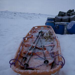 Tom Nylund på Grönland