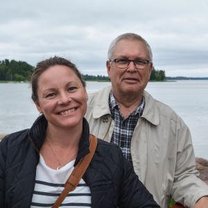 Jessica Backman och Per Sveholm