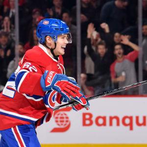 Artturi Lehkonen, Montreal Canadiens, december 2016.