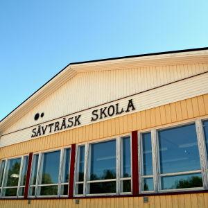 Skolbyggnad i Liljendal
