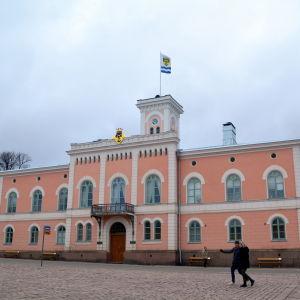 Lovisa rådhus.