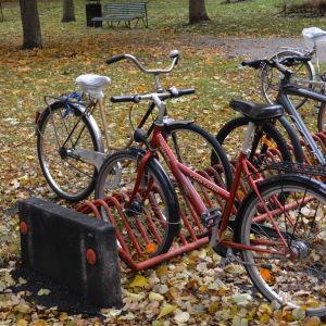 En cykelställning