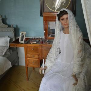 Vita damen på Svartå slott