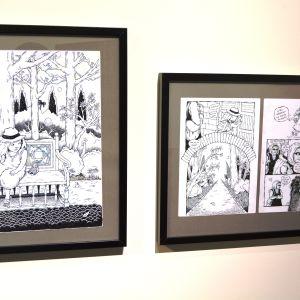 Serieteckning av Henri Gylander