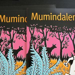 Mumindalen - konstutställning på konstfabriken i Borgå