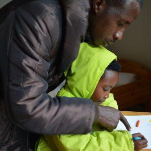 kongolesiska kvotflyktingar, borgå
