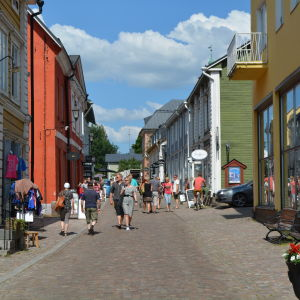 Gamla stan i Borgå