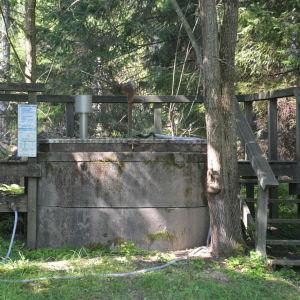 Brunnen som Vanda stad låtit kan inte längre användas.