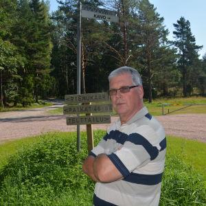 Jorma Laiho, ordförande för byggnads- och miljönämnden i Ingå