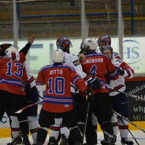 Sport och IFK träningsspelade i Vasa.