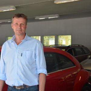 Guy Sjöberg från Ekenä bilhus