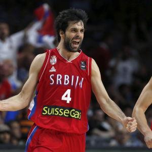 Milos Teodosic, serbisk basketspelare.
