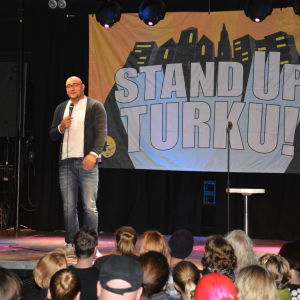 Ali Jahangiri, Stand Up, Turku 2014