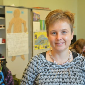 Annette Ström är projektledare för barnens och de ungas bokkalas 2014.