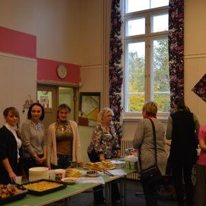 Bland annat slavisk mat serverades vid Mira huset i Vasa