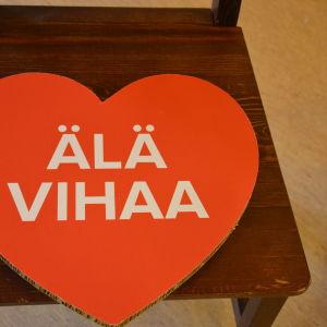 Hata inte kampnaj vid Mirahuset i Vasa