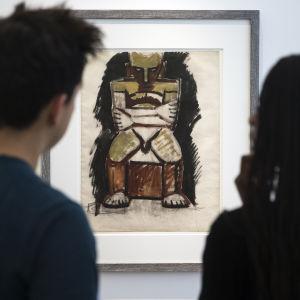 Seated nude av Pablo Picasso
