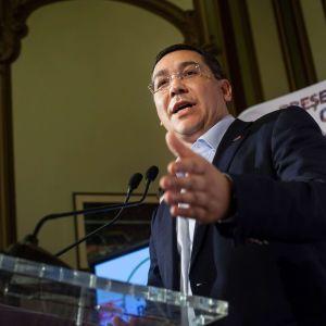 Rumäniens premiärminister Victor Ponta väntades vinna presidentvalet i november 2014.