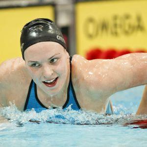 Jenna Laukkanen tog sig till semifinal i Doha.