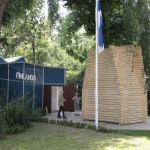 Re-Creation at the Alvar Aalto Pavilion of Finland, Venice 2014