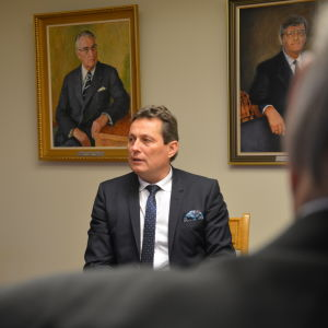 Hannu Ylönen och Jouko Kavande