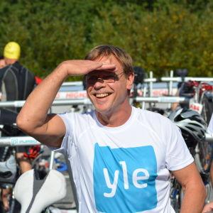 Snart dags för start för Stig Andersson och Marcus Långs i Sun City Triathlon