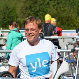 Stig Andersson redo för sitt livs triathlon